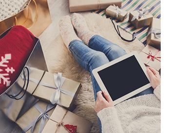 Faire ses achats de Noël en ligne